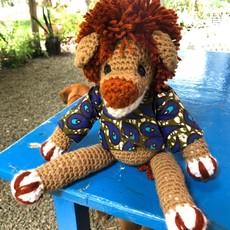 Creation Hive Crocheted Lion Stuffed Animal