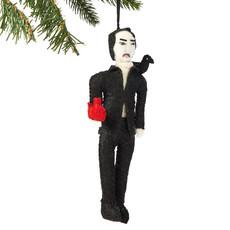Silk Road Bazaar Edgar Allan Poe Felt Ornament