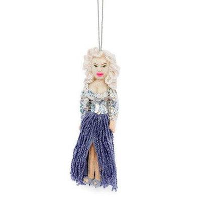 Silk Road Bazaar Dolly Parton Felt Ornament