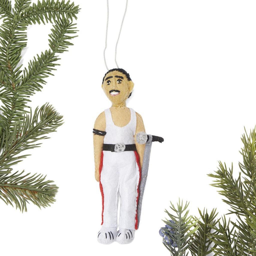 Silk Road Bazaar Freddie Mercury Felt Ornament