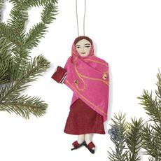 Silk Road Bazaar Malala Felt Ornament