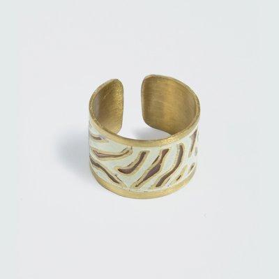 Mata Traders Arusha Brass Ring
