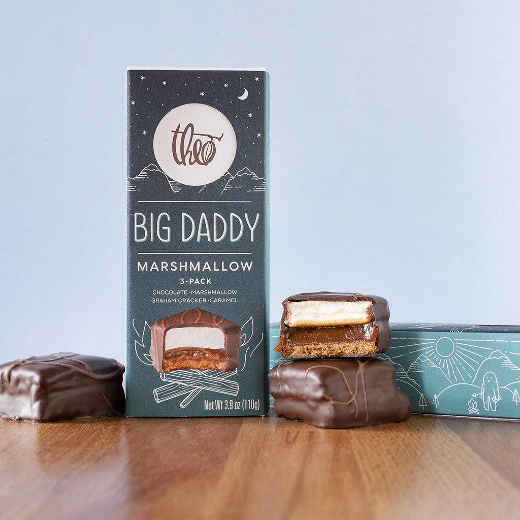 Theo Chocolate Big Daddy Marshmallow 3 Piece Collection