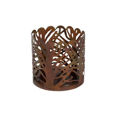Ten Thousand Villages Forest Small Candle Holder