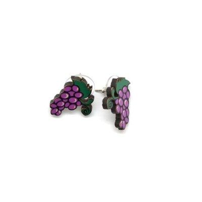 Dunitz & Co Grapes Stud Earrings