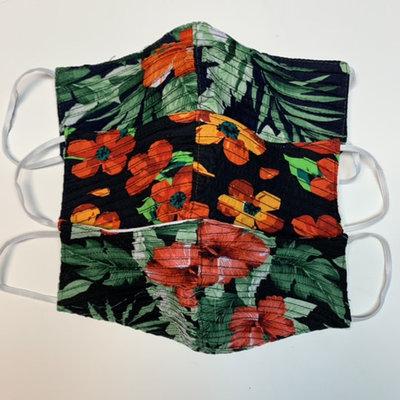 Unique Batik Three-Ply Cotton  Face Mask