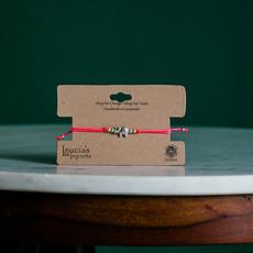 Lucia's Imports Elephant String Charm Bracelet
