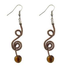Unique Batik Harmony Bead Earrings