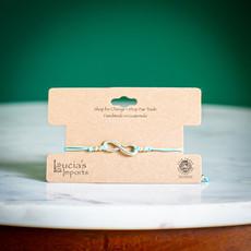 Lucia's Imports Infinity String Charm Bracelet