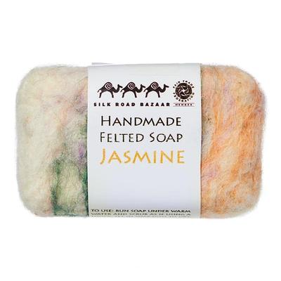 Silk Road Bazaar Jasmine Handmade Felted Soap