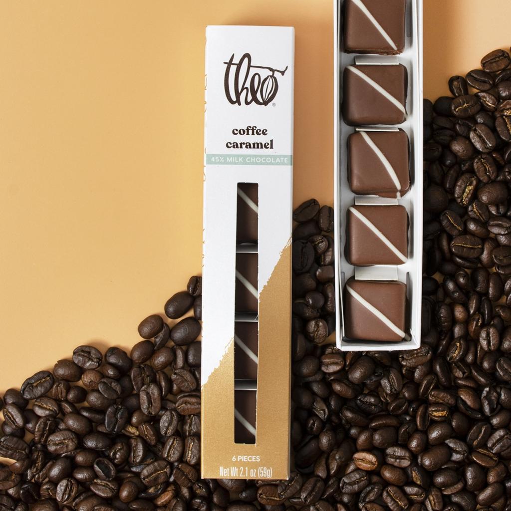 Theo Chocolate Milk Chocolate Coffee Caramels
