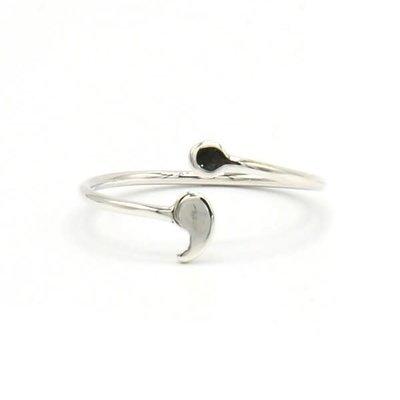 Fair Anita Semi-Colon Sterling Silver Ring