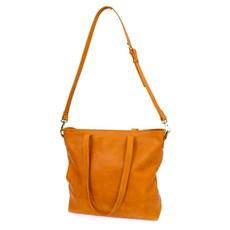 Fair Anita Venture Cognac Leather Crossbody/Tote