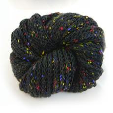 Minga Imports Chico Acrylic Infinity Scarf Black