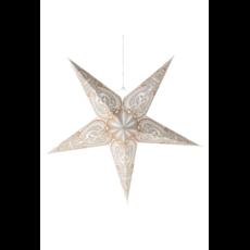 Ten Thousand Villages Paisley 3-D Hanging Paper Star