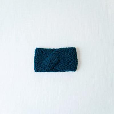 Andes Gifts Cusco Blended Ear Warmer: Aqua