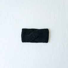 Andes Gifts Cusco Blended Ear Warmer: Black