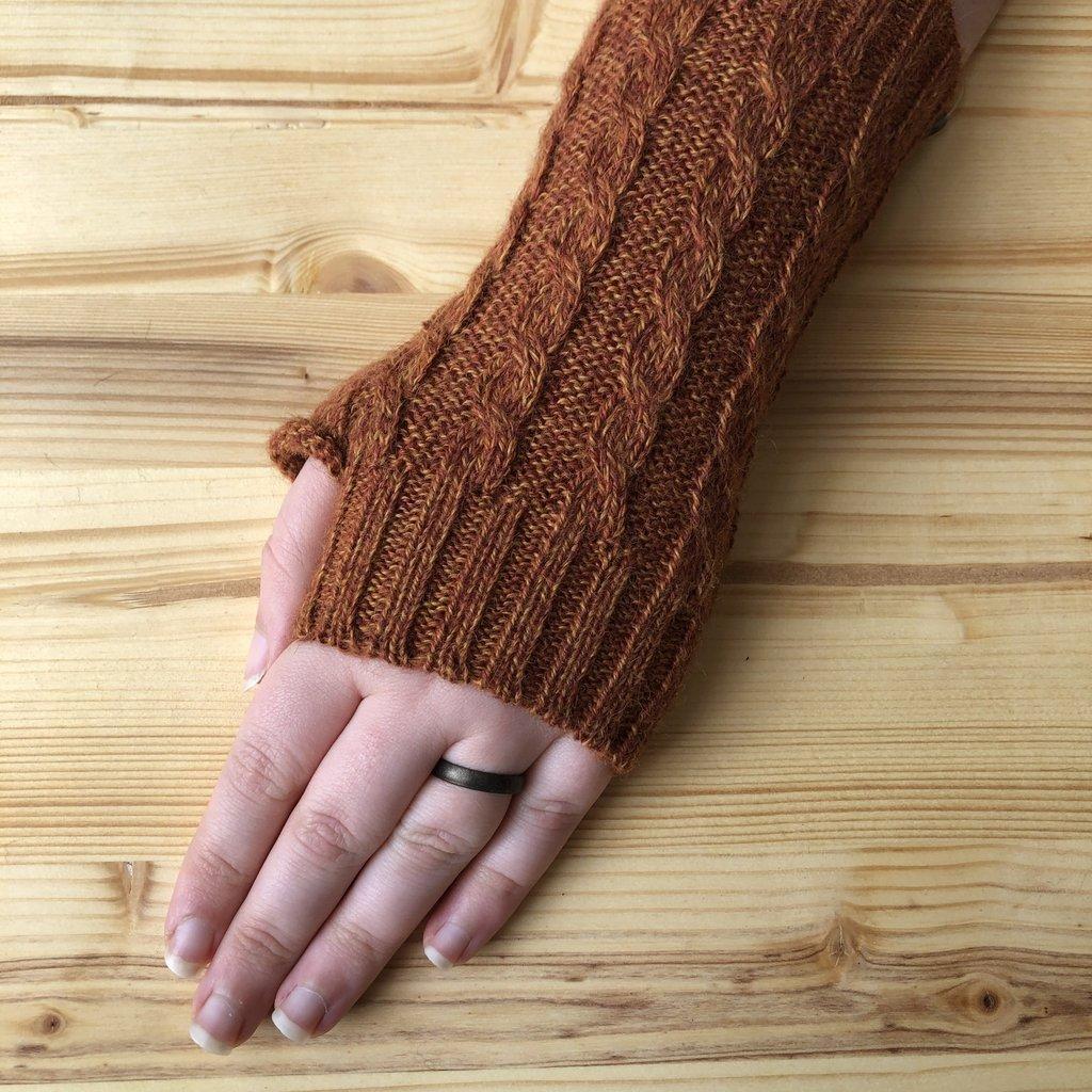 Minga Imports Gelid Blended Arm Warmers Orange