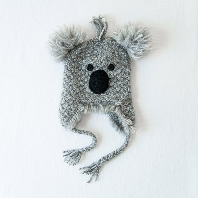 Andes Gifts Adult Animal Hat: Koala