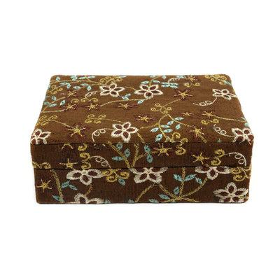 Minga Imports Luxury Jewelry Box Brown