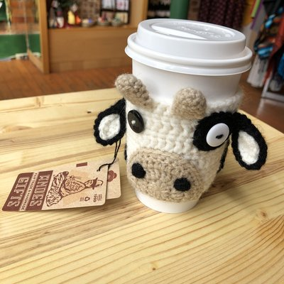 Andes Gifts Animal Cup Cozies: Cow