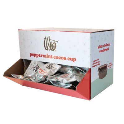 Theo Chocolate Single Chocolate Peppermint Cup