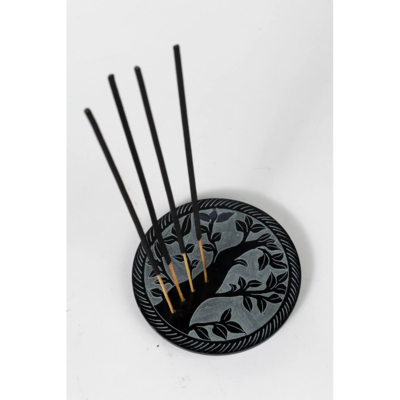 Ten Thousand Villages Tree of Life Incense Holder