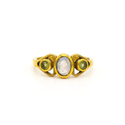 Fair Anita Triple Harvest Stone Ring