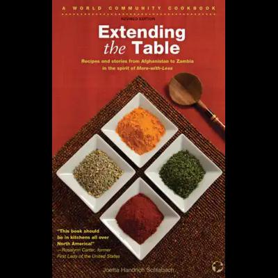 Menno Media Extending the Table - Cookbook