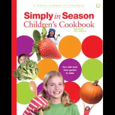 Menno Media Simply in Season Children's Cookbook