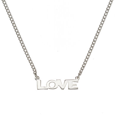 Serrv Love All Around Silver-plated Necklace