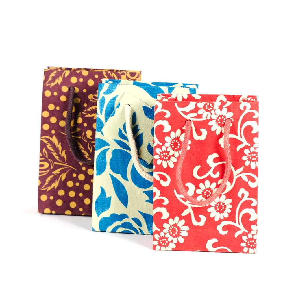 Matr Boomie Eco Friendly Gift Bags - Small Assorted