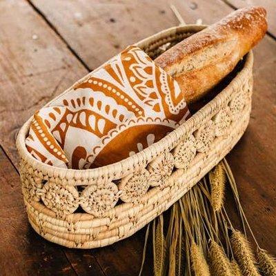 Ten Thousand Villages Oblong Terra Cotta Bird Bread Warmer