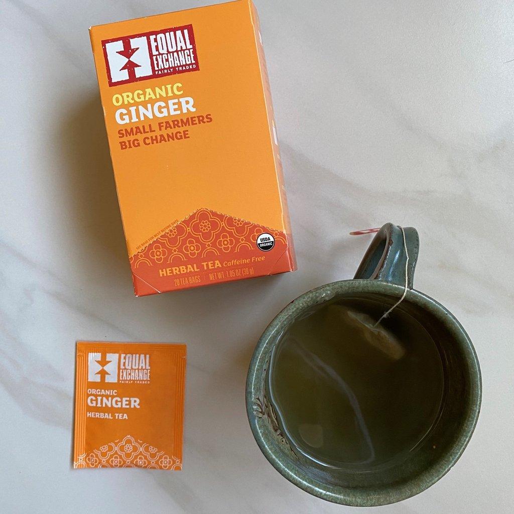 Equal Exchange Organic Ginger Tea 20pc Box