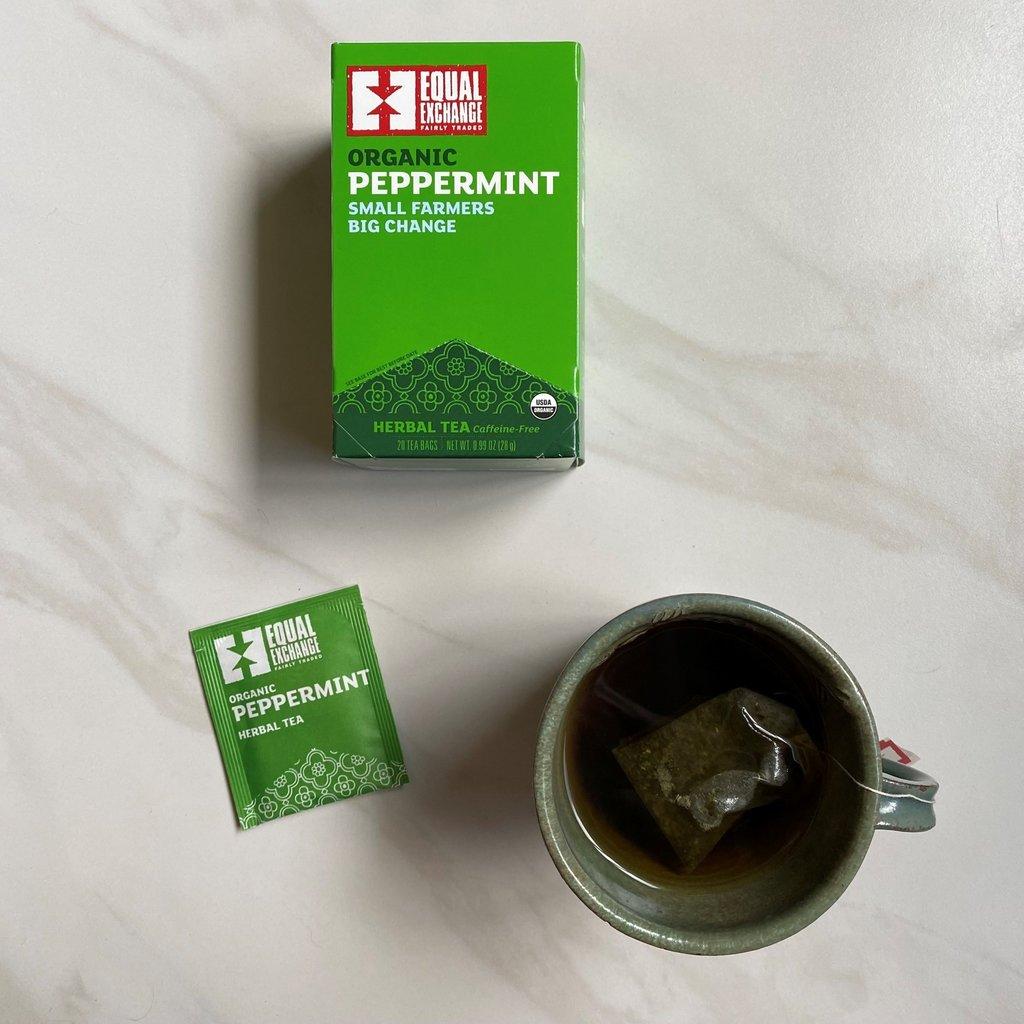 Equal Exchange Organic Peppermint Tea 20pc Box