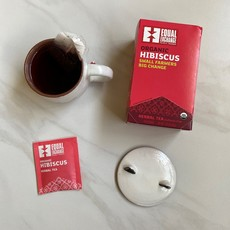 Equal Exchange Organic Hibiscus Tea 20pc Box