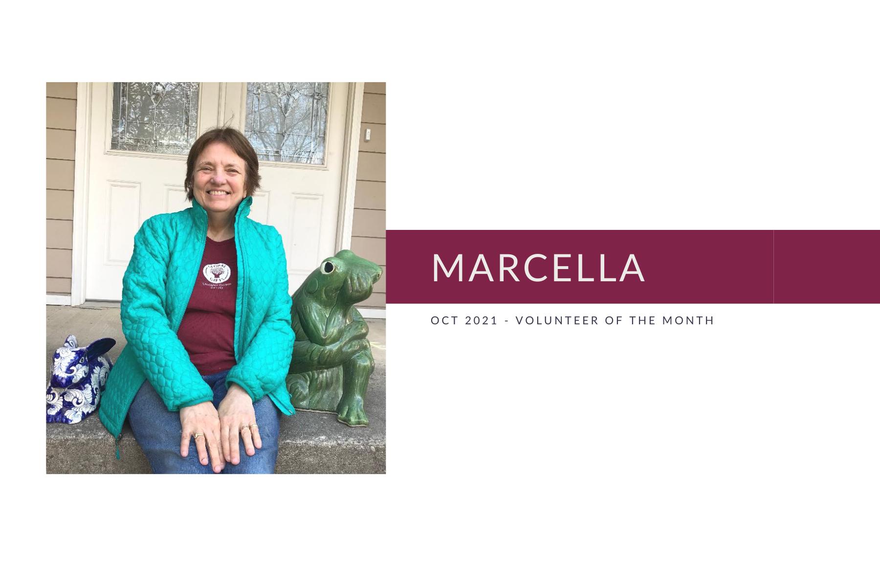 Meet Marcella: Volunteer of the Month (October 2021)
