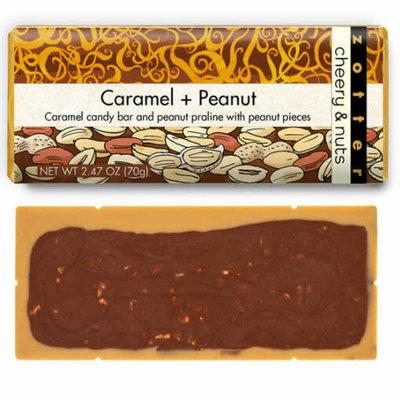 Zotter Chocolate Caramel Peanut Cheery & Nuts Chocolate