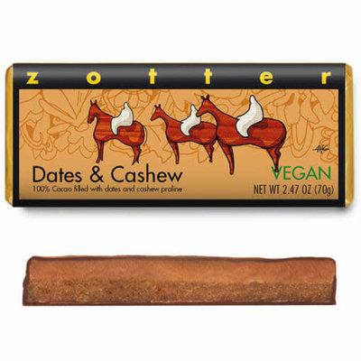 Zotter Chocolate Dates & Cashew Vegan Hand-scooped Chocolate