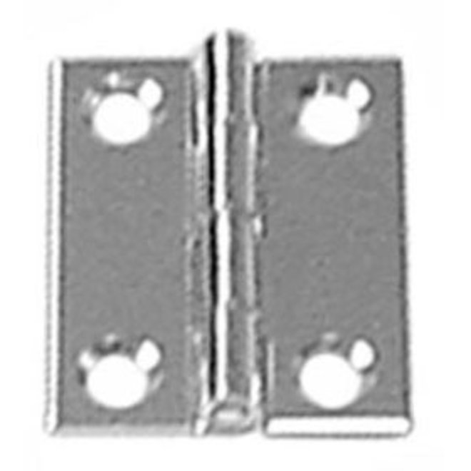Butt Hinge SS 2x1 1/2 in Pair