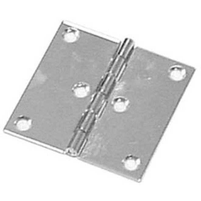 Butt Hinge SS 3x3 inch Pair