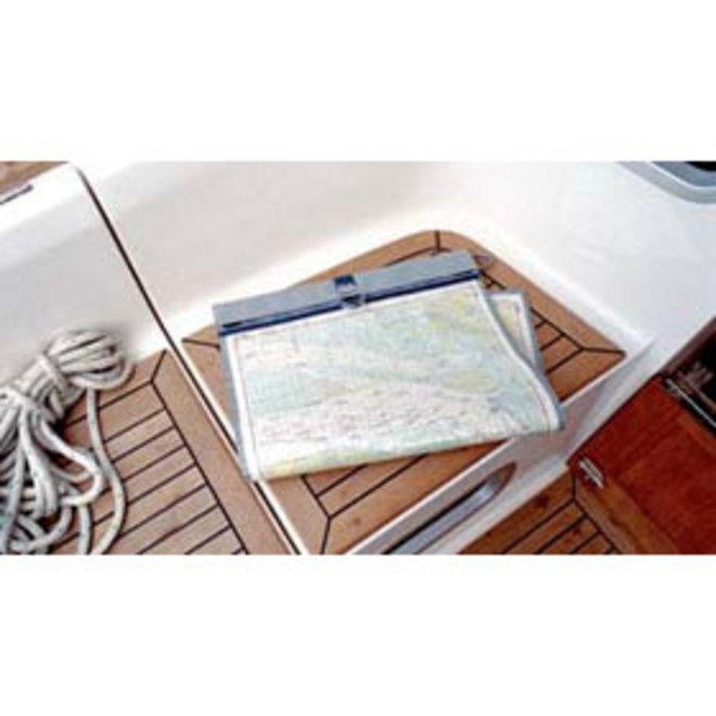 Blue Performance Sea Map Bag
