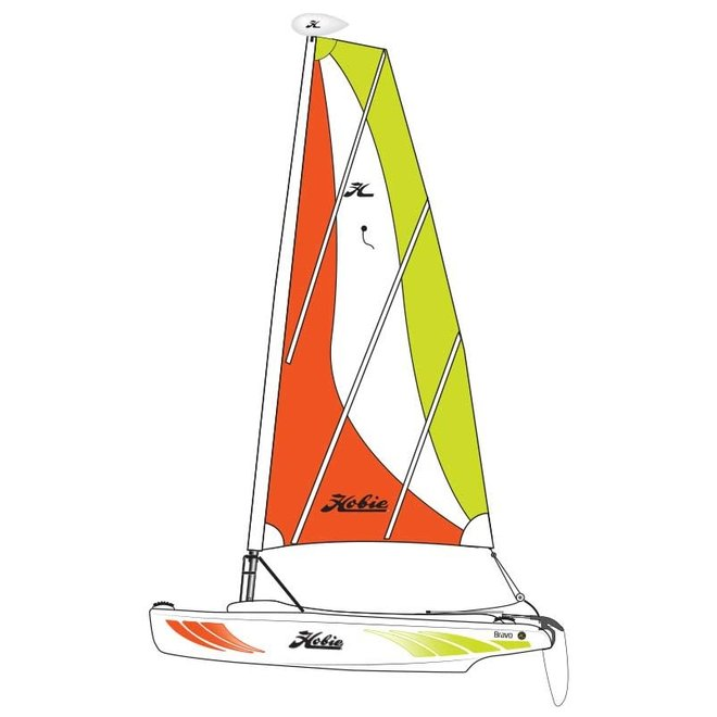 Hobie Bravo Catamaran Sailboat
