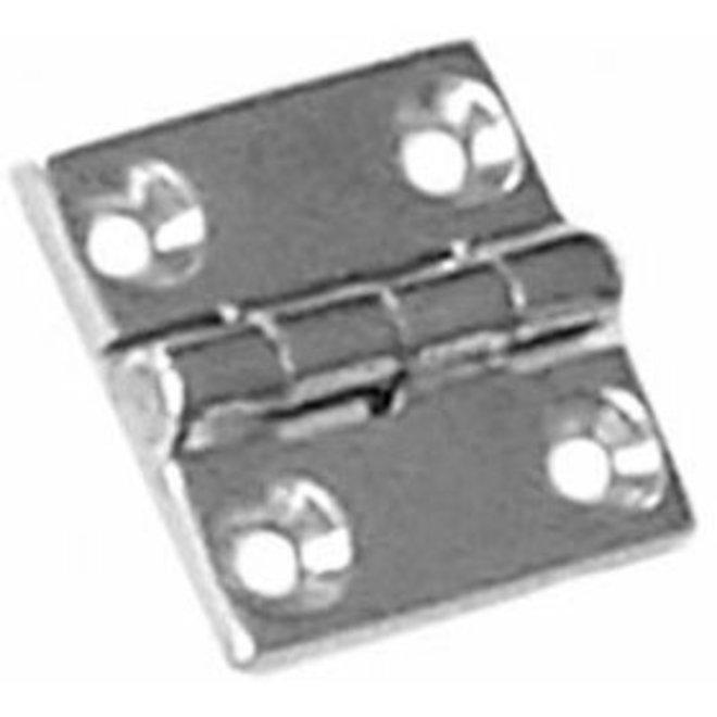 Butt Hinge 1-1/2 x 1-1/2 Stainless Steel 316 Cast