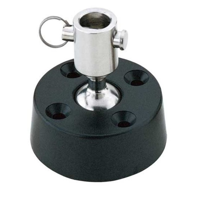 Ball Socket Swivel Base Stand Up Base 3/16in pin
