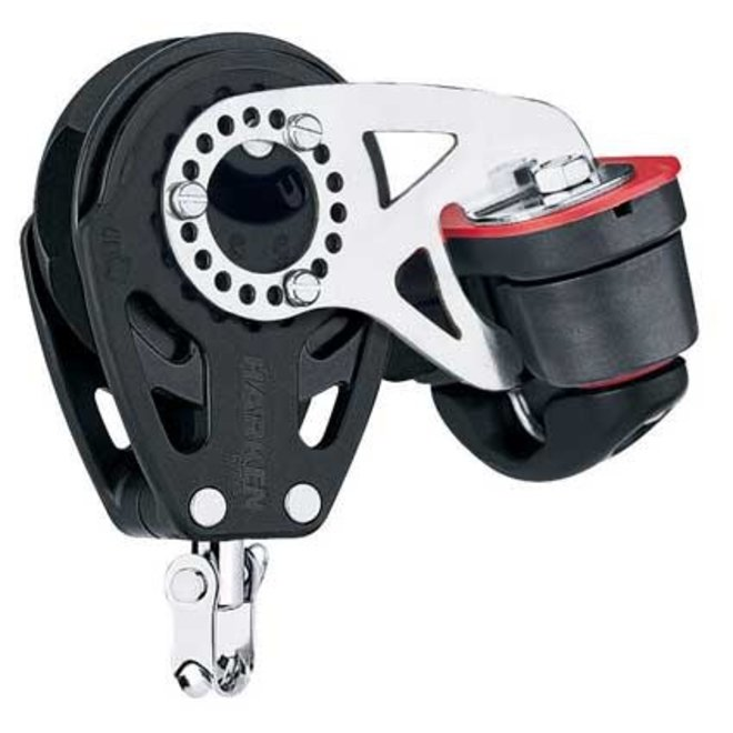 57mm Carbo Ratchet Single Block with Cleat