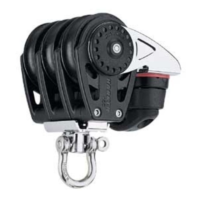 40mm Carbo Triple w Cleat & Swivel