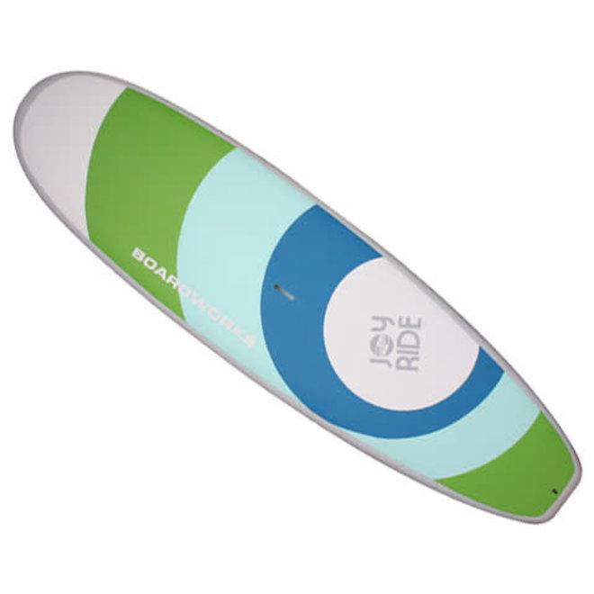 Boardworks Joyride Soft Deck 9'11 SUP Green Blue