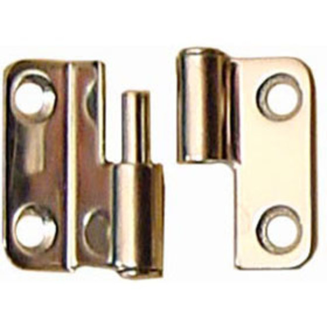 Cabinet Hinge Lift Off RH 3/8 Offset 1.5 x 1.5 in