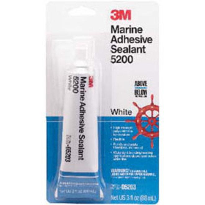 3M 5200 Standard Adhesive Sealant White 3oz tube